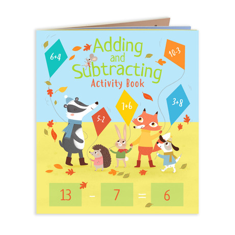 MATHS Adding and Subtracting Activity Book