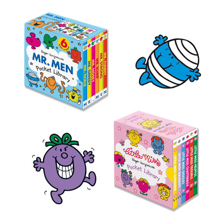 Mr.Men and Little Miss Pocket Library collection