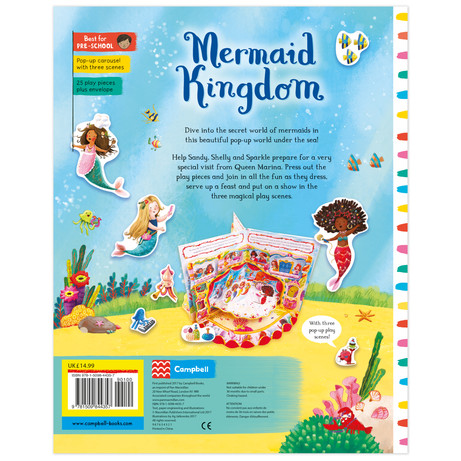 Pop-up Carousel : Mermaid Kingdom