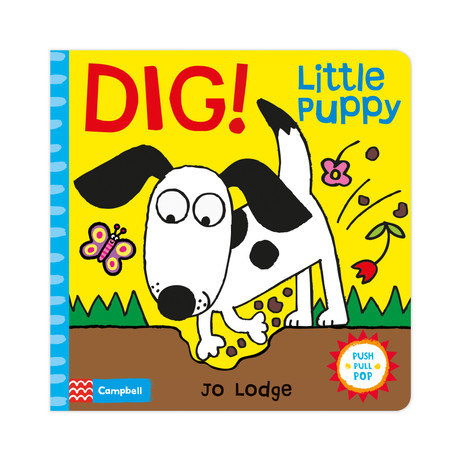Dig! Little Puppy by Jo Lodge