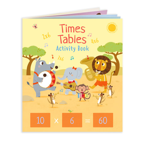 MATHS Times Tables Activity Book