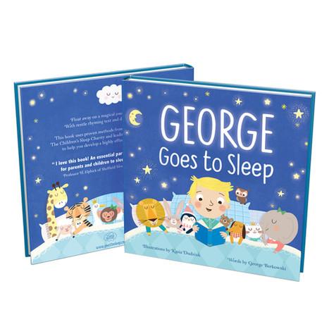 Goes to Sleep book