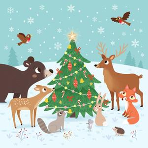 Christmas Tree Animals