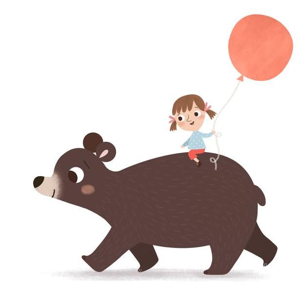 Bear and Kid adventure