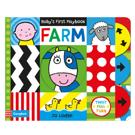Baby's First Playbook FARM by Jo Lodge