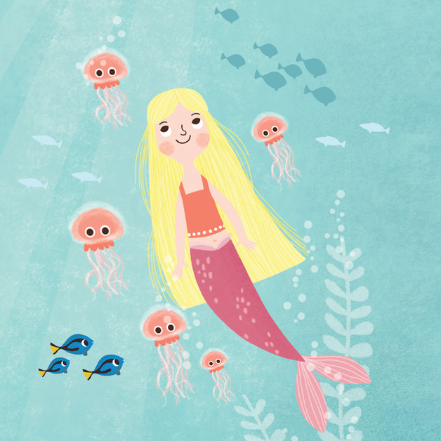 Under the sea Mermaid