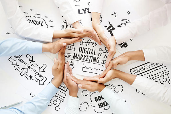 digital-marketing-business-people-making-circle-out-hands-to-emphasize-concept-66455337.jp