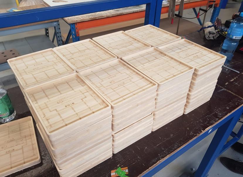 Bamboe CNC frezen
