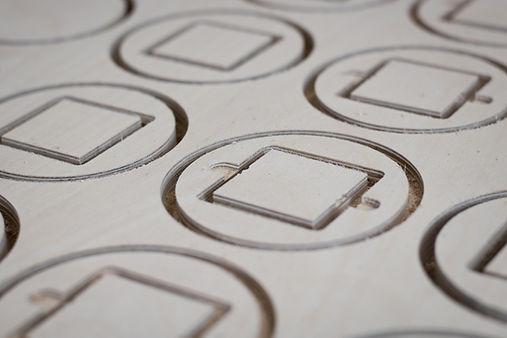 CNC frezen 2D multiplex