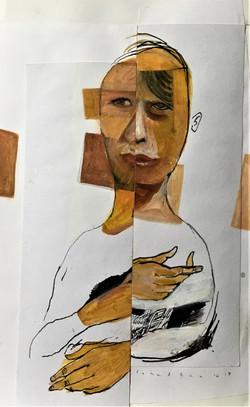 Cubist Hand 3