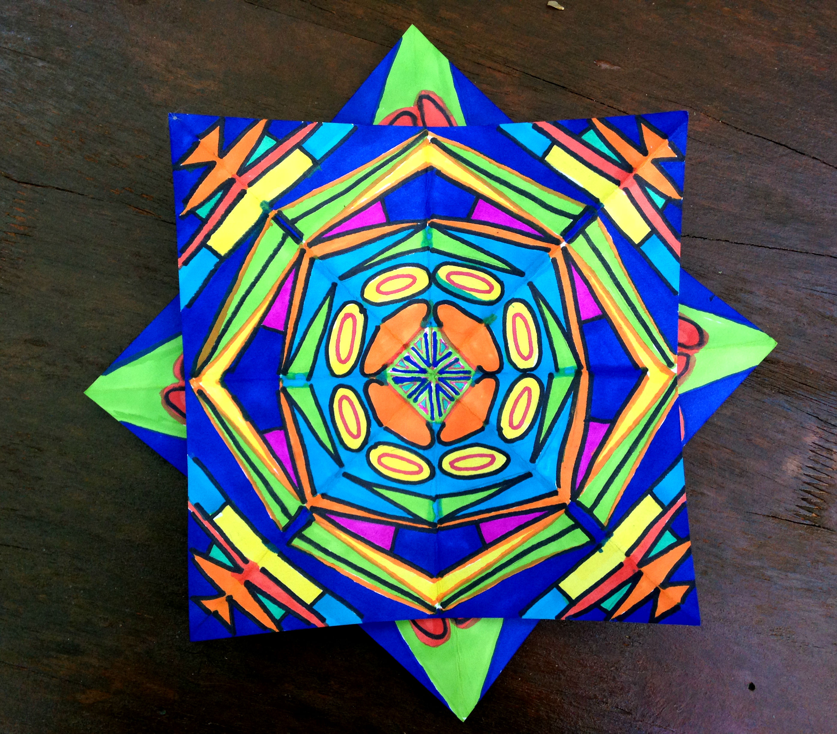 Kaleidoscope Star 4