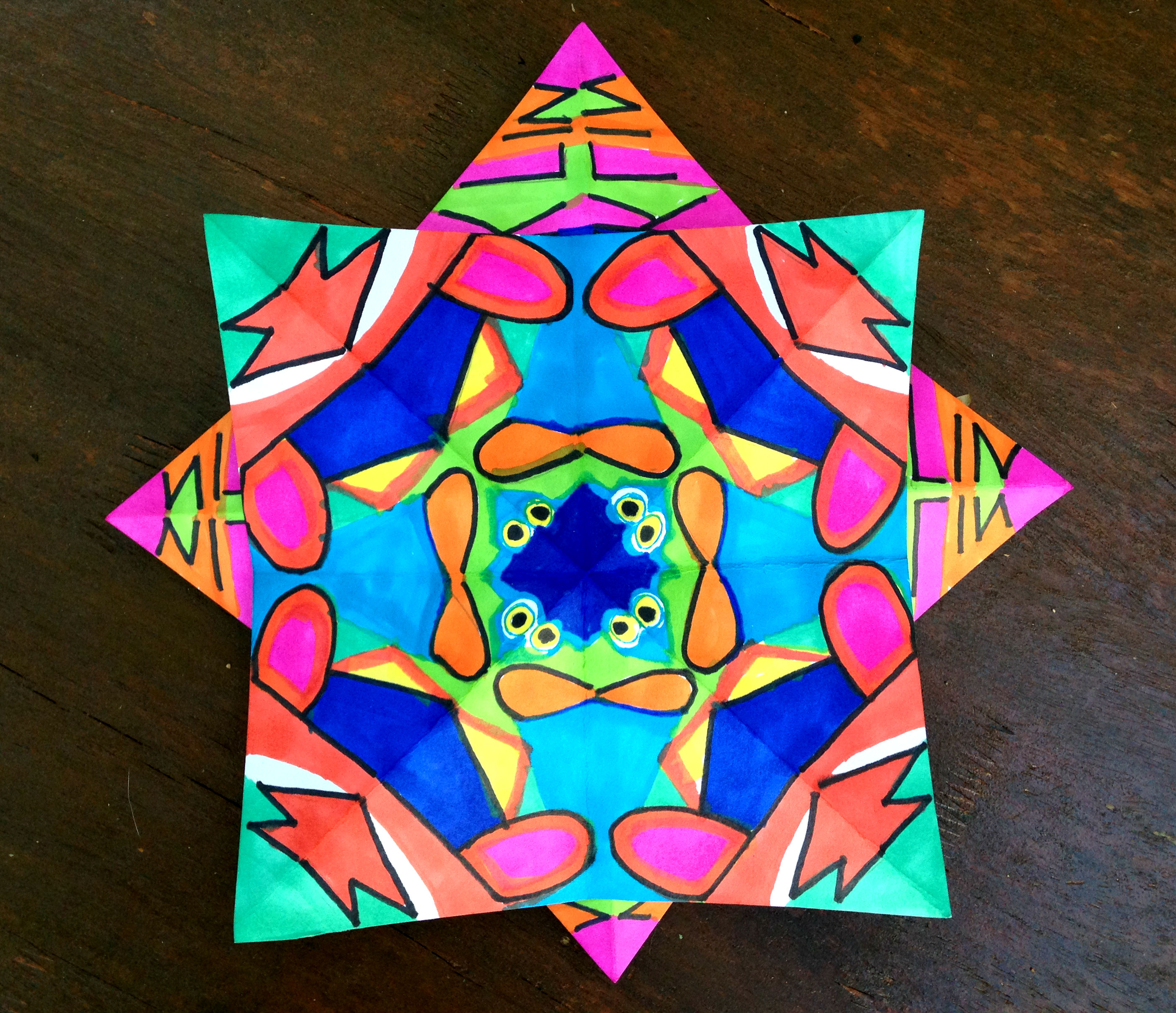Kaleidoscope Star 2