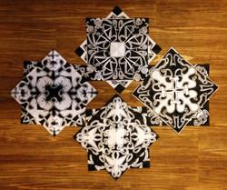 Black and White Kaleidoscopes 2
