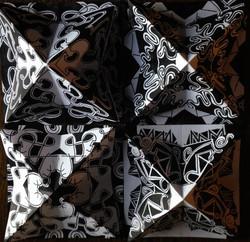 Black and White Kaleidoscopes 5