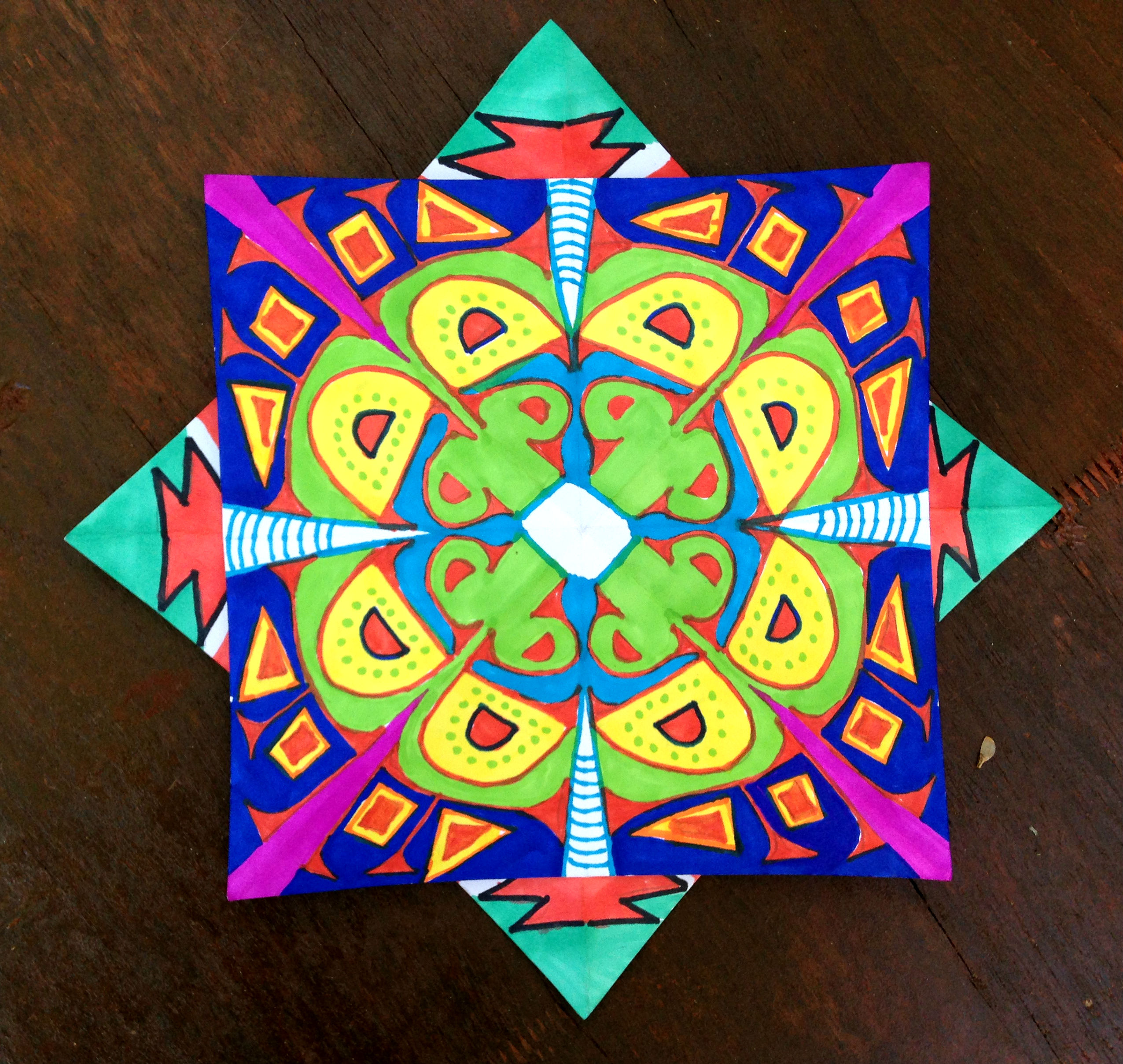 Kaleidoscope Star 1