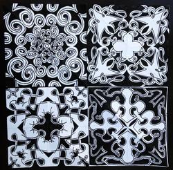 Black and White Kaleidoscopes 1