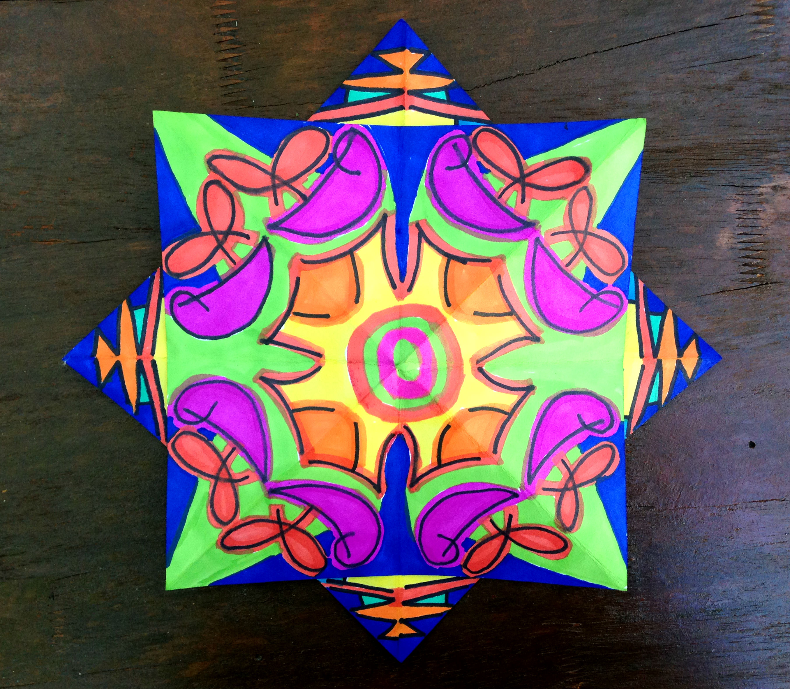 Kaleidoscope Star 3