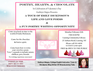 Poetry, Hearts & Chocolate