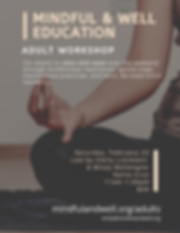 Copy of Copy of Mindful & Well Education