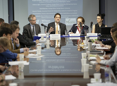 IPPP co-hosts debate on climate change ethics with Wilson Center