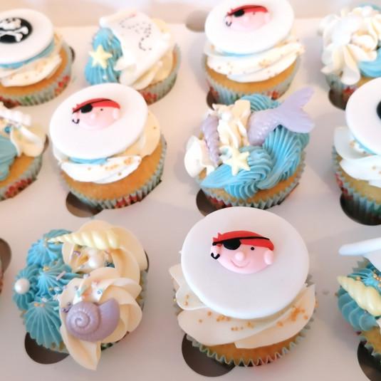 Deluxe cupcakes piraten thema