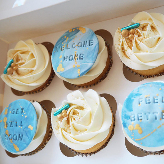 Deluxe cupcakes get well soon