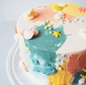 Onderwaterwereld taart