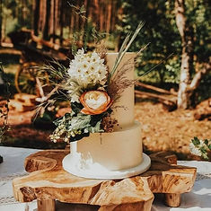 Rustic outdoor wedding cake.jpg
