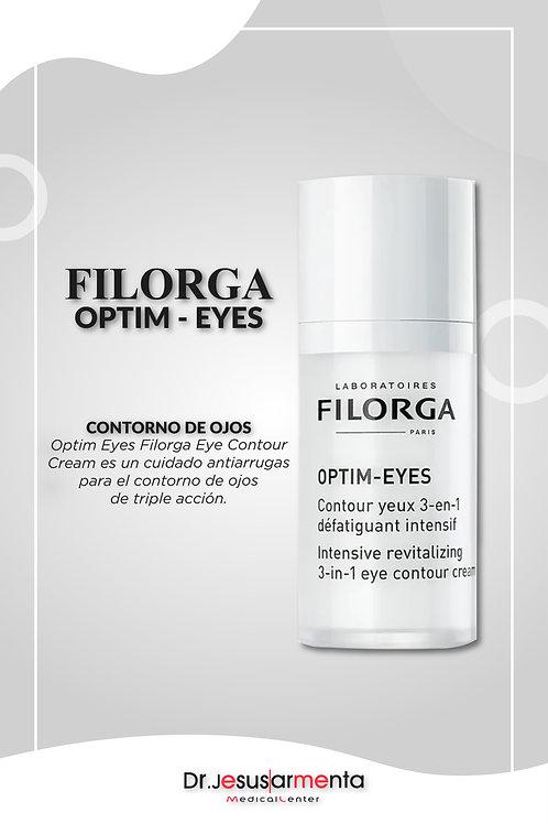 Filorga Optim Eyes Crema Contorno de Ojos Para Ojeras Bolsas y Arrugas