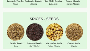 16 Essential Herbs & Spices for Indian Cooking - by Oh My Veg!