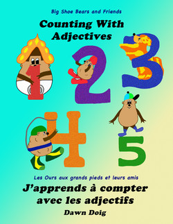 Counting with Adjectives (English/French)