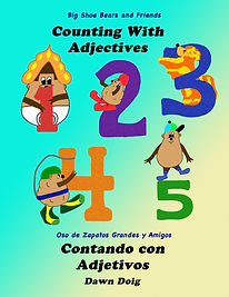 Counting with Adjectives Cover Spanish R