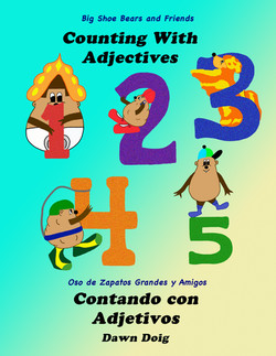 Counting with Adjectives (English/Spanish)