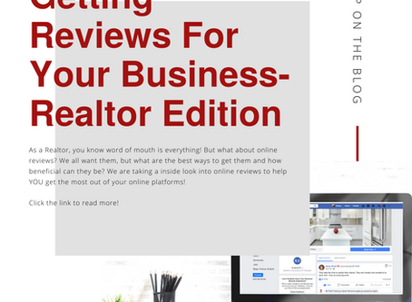 Getting Reviews For Your Business: Realtor Edition