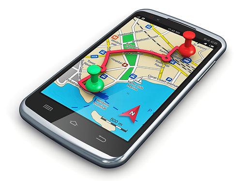 Geolocalização - Localize aonde está um aparelho de celular.