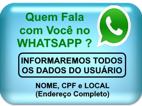 Consulta Usuário Whatsapp