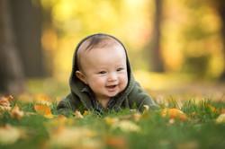 Dana Rose Photography Fall Baby