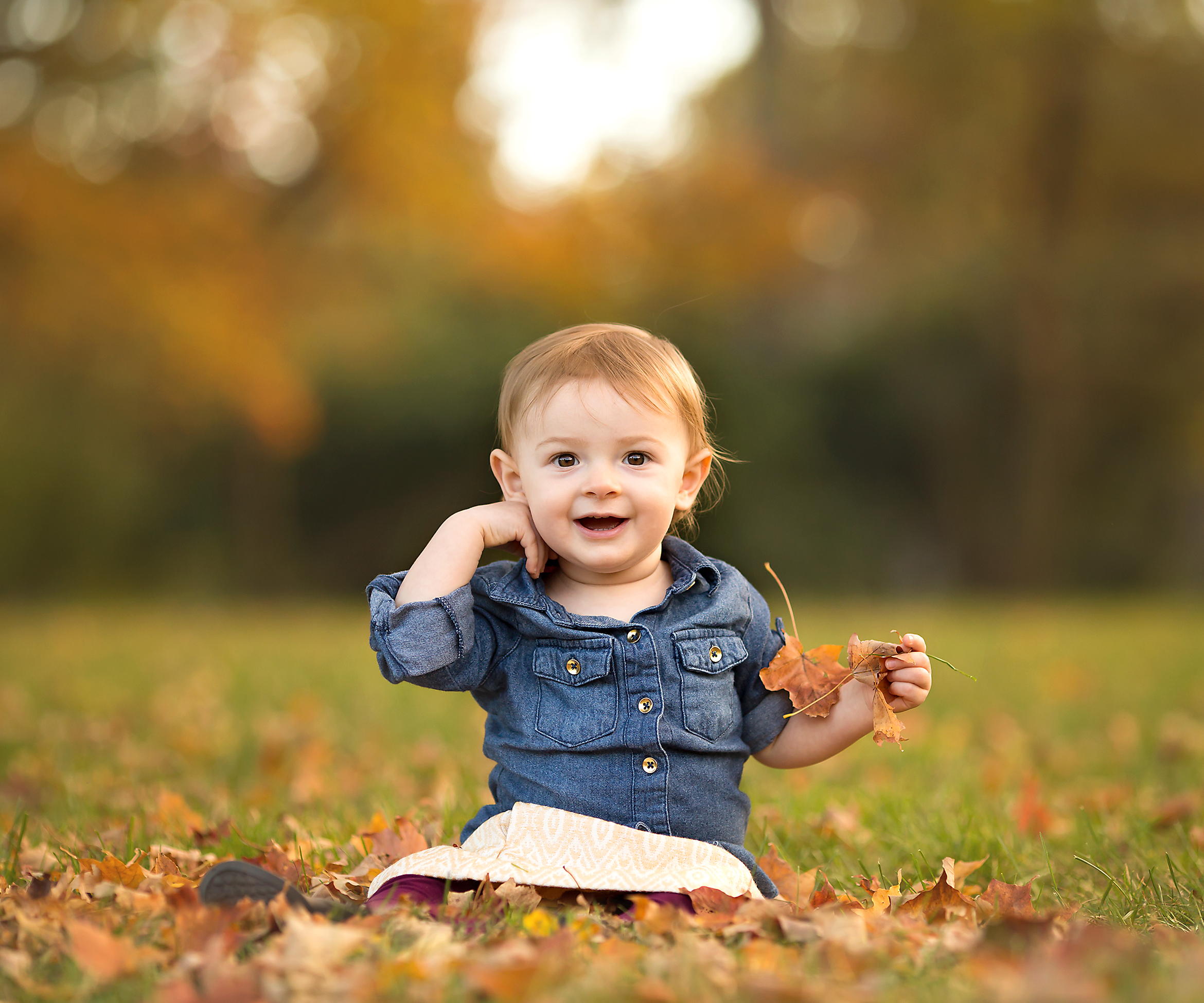 Dana Rose Photography Fall Toddler