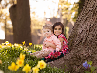 Spring Sibling Session | Grosse Pointe Family Photographer