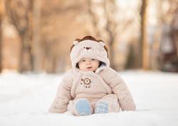 Dana Rose Photography Snow Baby