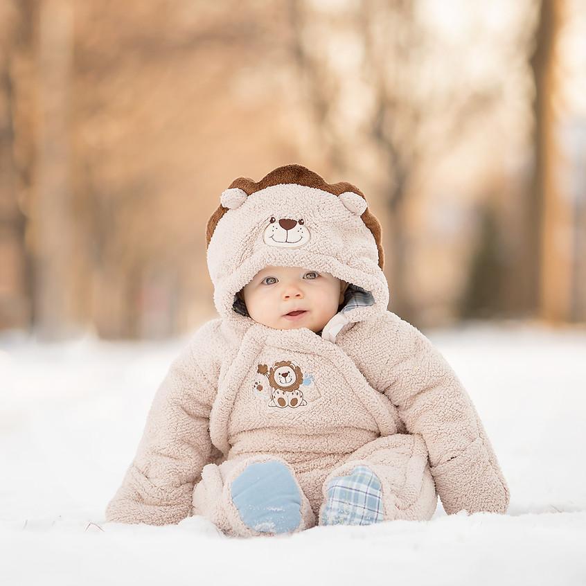 Grosse Pointe Baby in Winter