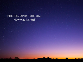 How was it shot: Last light at Kata Tjuta