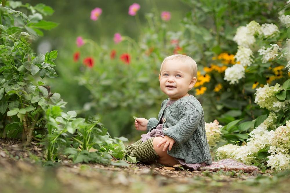 Grosse Pointe Baby in Flowers