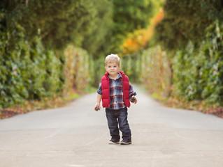 Grosse Pointe Child Photographer - Neff Park