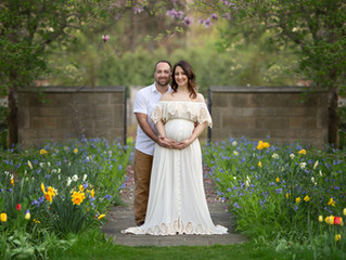 Metro Detroit Maternity and Outdoor Newborn Session