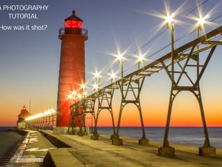 How it was shot:  Grand Haven Pier