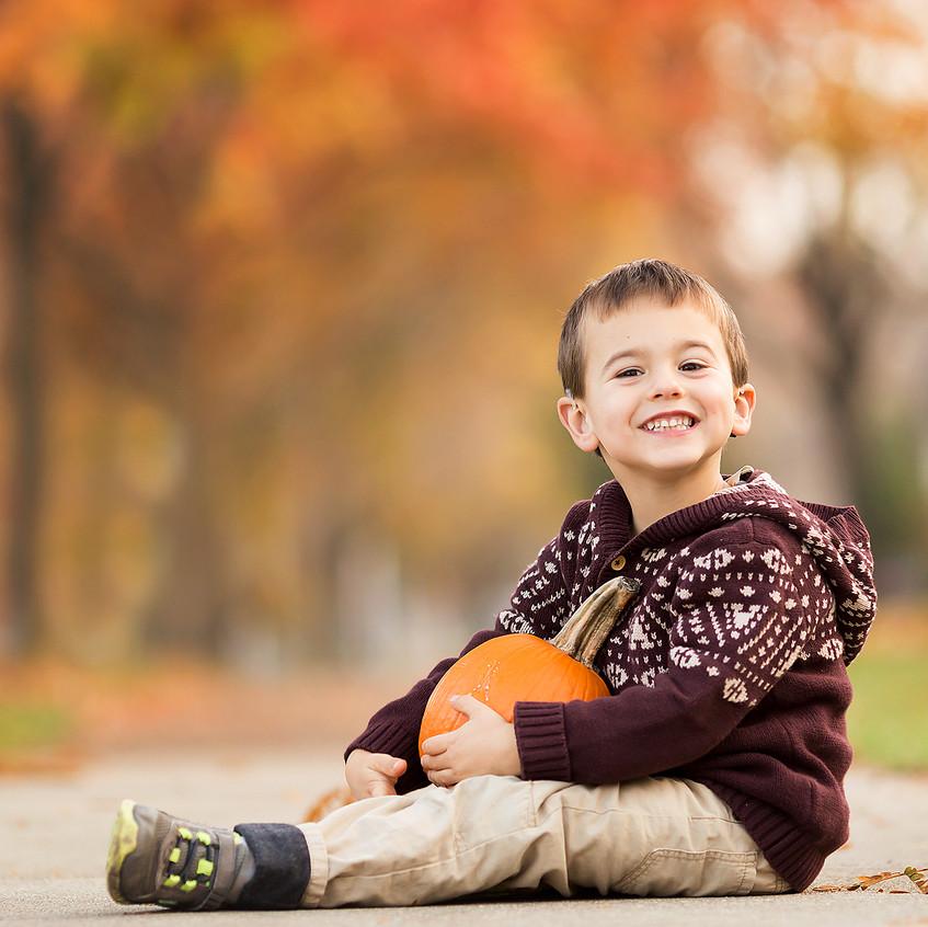 Grosse Pointe Boy in Fall