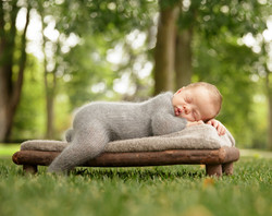 Rochester Hills Outdoor Newborn Photography