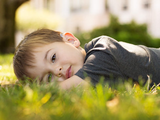 The Hunt with my Muse - Grosse Pointe Child Photographer
