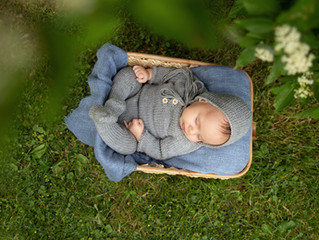 Four Seasons Baby Milestone Sessions | Grosse Pointe Baby Photographer | Metro Detroit Newborn